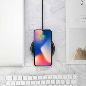 J.ZAO Wireless charger Fast charger for iPhone X 7.5W for iPhoneX/iPhone8/8Plus Samsung S7/9/8 edge universal