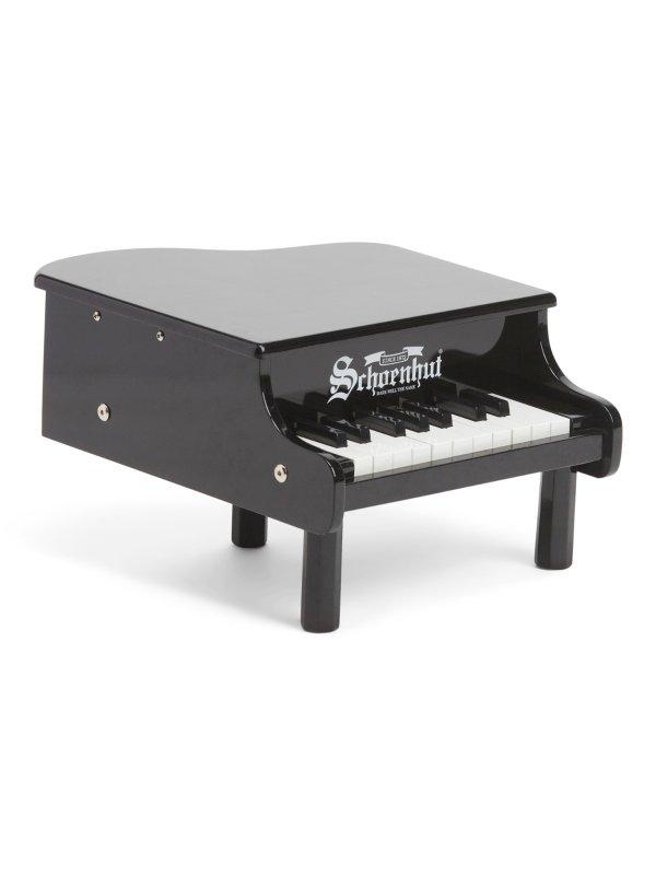 18键迷你三角玩具钢琴