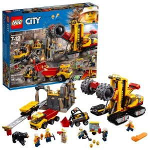 Lego刷新史低价城市系列 采矿专家基地 60188