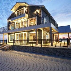 From $543360 Degrees Of Lakefront Villa in Farmerville, Louisiana