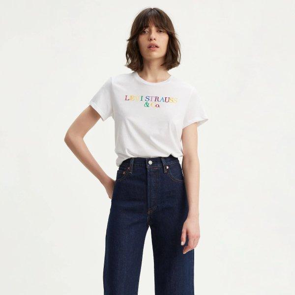 彩色Logo 短袖 T恤