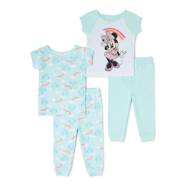 婴儿米妮睡衣4件套