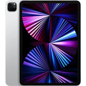 AppleNew Apple 11-inch iPadPro with Apple M1 chip (Wi-Fi, 128GB) - Silver(2021 Model, 3rd Generation)