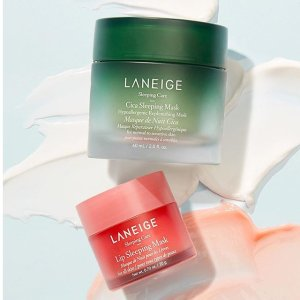 Up to 6 Free GiftsLast Day: Laneige Beauty Products Shopping Event