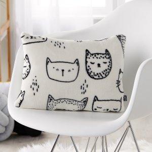 低至5.5折 $1.99起Simons 猫咪系列家居热卖 $9.99猫咪抱枕补货啦