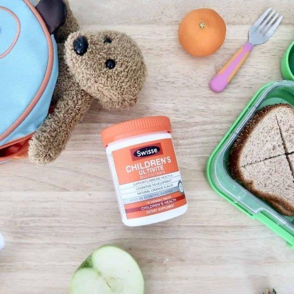 儿童综合维生素 咀嚼片 橘子口味 120粒