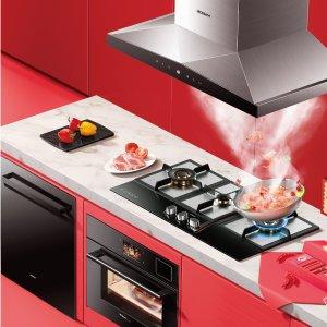 留言有奖 老板4件套仅$3486老板电器家装节,美国新厨房,烟灶烤套系最高立减$750