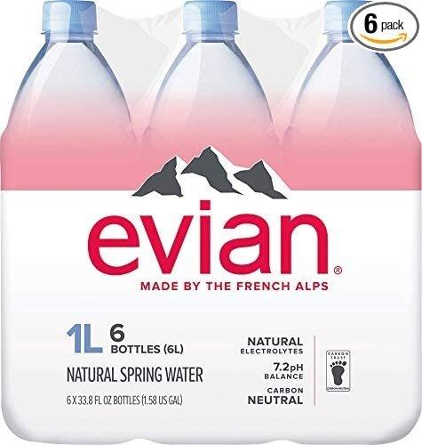 天然矿泉水 1升装 6瓶
