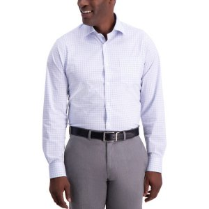 HaggarGraph Check Premium Comfort Dress Shirt