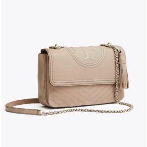 Tory BurchFleming Chevron Flap Shoulder Bag: Women's Handbags