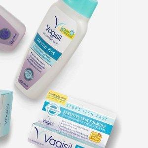 $6.17(原价$8) 妇科专家测试认证Vagisil 女性私处洗液 敏感肌适用 240ml 给你最细致温柔的呵护