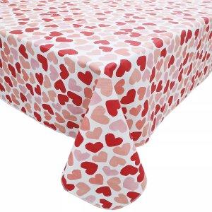 爱心印花桌布