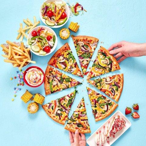 5分换小食 7分换中号PizzaPizza Hut官网 积分换大餐 点单前记得随手先注册会员哦