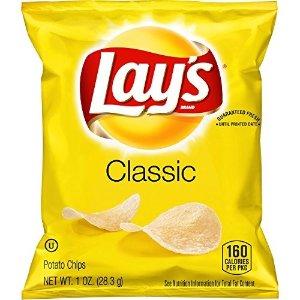 Lay's 经典原味薯片 40包