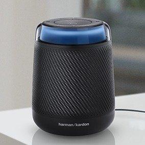 $64.95(原价$200) 顶级音质+10h续航Harman/Kardon Allure 智能音箱, 支持Alexa+20W 双声道