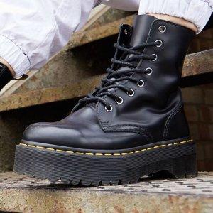 比德国定价更低 可支付宝DR. MARTENS 全场7.8折 快收Bella、欧阳娜娜同款Jadon厚底8孔靴