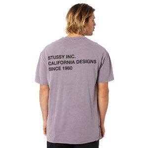 Stussy Design Text T恤