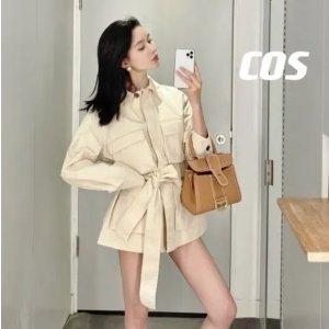 COS系带外套