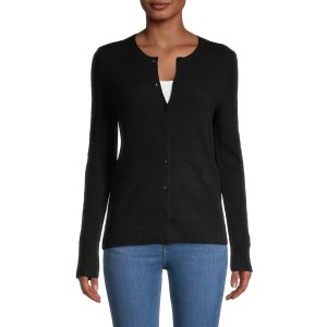 Saks Fifth AvenueCashmere Buttoned Cardigan