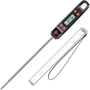 闪购:Habor 食物温度计,超长探针烤肉烘焙必备
