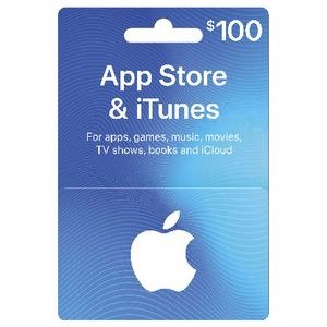 Apple iTunes 礼品卡 $100