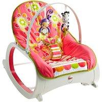 Fisher-Price 婴幼儿安抚成长椅, Floral Confetti色