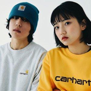 全场7折 €24.5收logo短袖T恤Carhartt WIP 大热潮牌春夏新款闪促 速收美式工装卫衣、衬衫