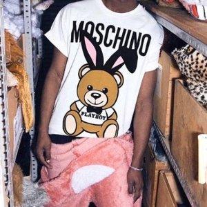 6折!T恤£69 ipx手机壳£25Moschino 可爱小熊全场大促 收T恤、帽衫、水桶卡包等好物