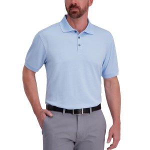 HaggarCool 18® Pro Waffle Textured Golf Polo