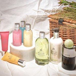 满送奢华沐浴护发6件套Molton Brown 身体护理热卖 收英国皇室级香氛沐浴