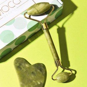 绿色款仅€11.97EMOCCI 刮痧瘦脸神器套装 活络面部经脉 淋巴通畅