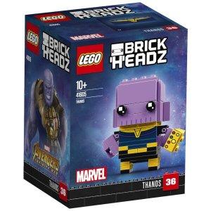 2件£18 变相75折 紫薯灭霸、神奇女侠、小闪都有LEGO Brickheadz 大头仔系列折扣热卖 星球大战人物较全