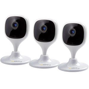 $49.98Q-See 1080P Wi-Fi Cube Security Camera - 3 Pack