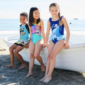 低至6折迪士尼官网 儿童泳装、泳具优惠