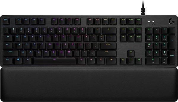 G513 Carbon LIGHTSYNC RGB GX茶轴 机械键盘