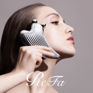 Receive a Limited-Edition Gift Setwith Purchase of Any ReFa RAY Series Roller @ refausa.com