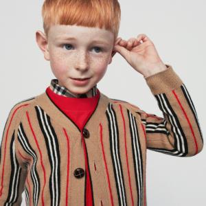 最高立减$275 变相7.25折 秋冬新款有大码即将截止:Burberry 童装服饰优惠 新款风衣、卫衣、帽子、衬衫都有