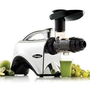 Omega 双功效150瓦超静音慢速榨汁机 可做面条