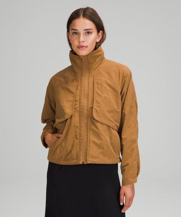 女士短款夹克