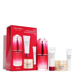 ShiseidoSkin Strengthening & Wrinkle Smoothing Set (A $143 Value) | SHISEIDO