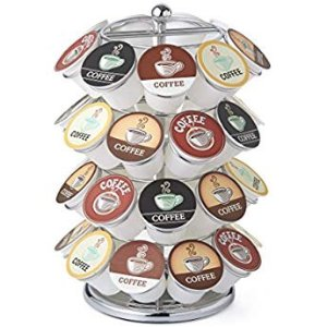 $11Nifty 5724 Coffee Pod Carousel, Holds 24 K-Cup Packs