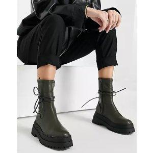 Public Desire系带靴