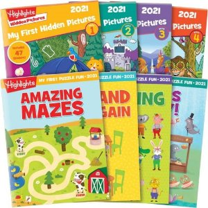 15% Off + FSDealmoon Exclusive: Hidden Pictures Sticker Book Collection