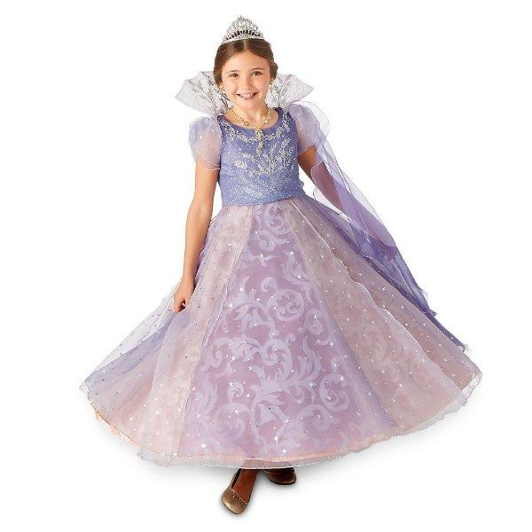 豪华Clara童款服饰,裙子可亮灯