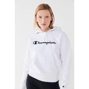 Champion Logo连帽衫