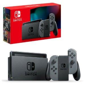 Nintendo2019新款 Switch 灰色游戏机