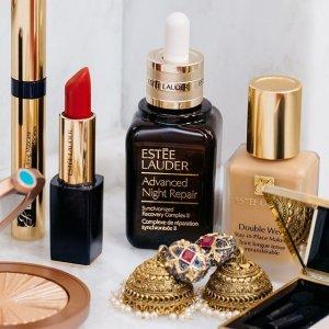 变相7.75折+送价值$130白金系列正装最后一天:Estee Lauder 美妆护肤品最高减$450促销 入新款红石榴系列