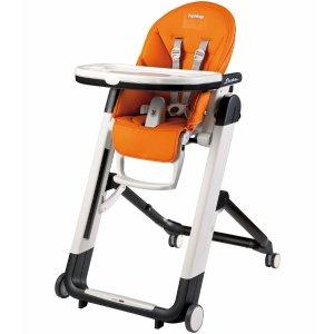 8折 热销高颜值餐椅Peg Perego 帕利高 Siesta 婴儿高脚四轮移动餐椅特价 多色