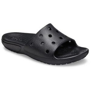 Crocs满$75减$15儿童经典洞洞拖鞋,3色选