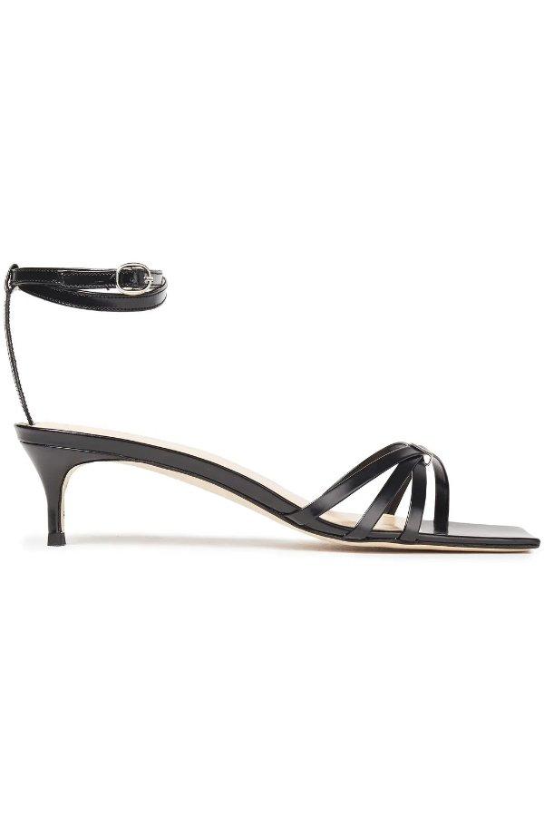 Kaia patent-leather 高跟鞋